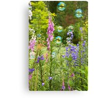 Bubble Garden Canvas Print