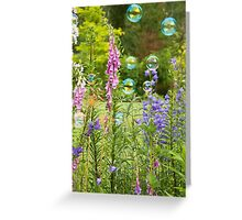Bubble Garden Greeting Card