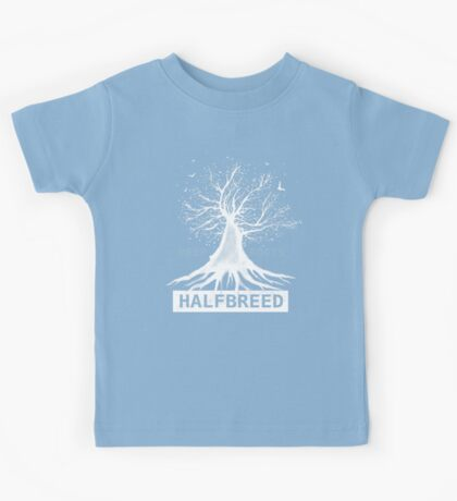 Deep Roots - White Ink - an Aaron Paquette Kids Tee
