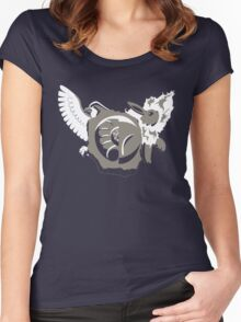 Crest of the Dome and Helix Women's Fitted Scoop T-Shirt