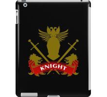 Fit For A Knight Coat-of-Arms iPad Case/Skin