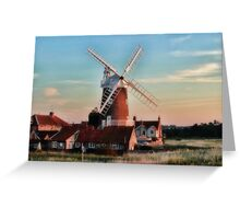 Cley windmill Norfolk Greeting Card
