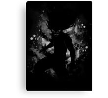 Iron-Shadow power Canvas Print