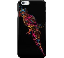 Colorful parrot. Parrot floral pattern. iPhone Case/Skin