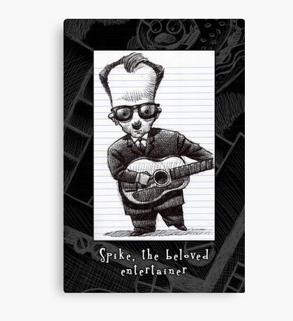 Spike, the beloved entertainer Canvas Print