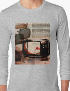cool geeky tech Retro Vintage TV television Nostalgia Long Sleeve T-Shirt