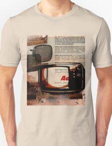 cool geeky tech Retro Vintage TV television Nostalgia Unisex T-Shirt