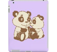 Panda - lovely family iPad Case/Skin