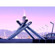 Vancouver 2010 Olympic Cauldron Photographic Print
