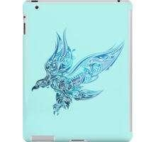 Eagle - blue bird iPad Case/Skin