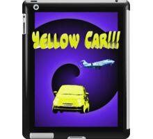 Yellow Car!!! iPad Case/Skin