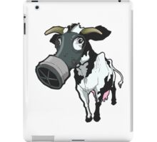 Nuclear Cow Black and White iPad Case/Skin
