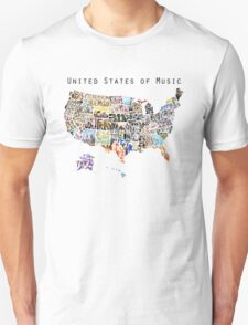 United States of Music T-Shirt