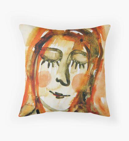 Madonna 3 Throw Pillow