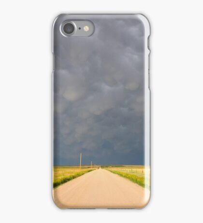 Passing of the storm iPhone Case/Skin