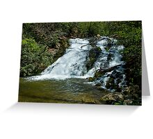 Indian Creek Falls Greeting Card
