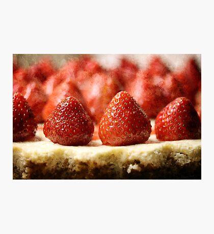 Strawberry Cheesecake Photographic Print