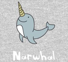 N for Narwhal One Piece - Short Sleeve