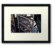 Office Worker Framed Print