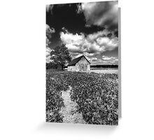 An American Farm Greeting Card