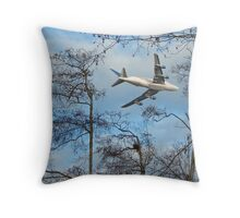 Dreamlifter Framed Throw Pillow