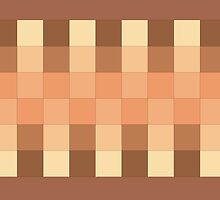Shades of Brown Pattern by xorbah