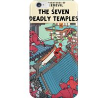 The Adventures of Daredevil: The Seven Deadly Temples iPhone Case/Skin