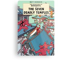 The Adventures of Daredevil: The Seven Deadly Temples Metal Print