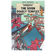 The Adventures of Daredevil: The Seven Deadly Temples Poster