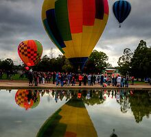 UP ! - Balloonfest,Canberra Australia - The HDR Experience by Philip Johnson