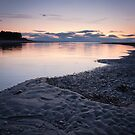 Findhorn Dusk by Christopher Thomson