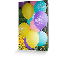 Baby Balloons Greeting Card