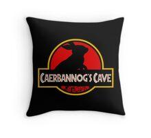 Caerbannog's Cave. Throw Pillow