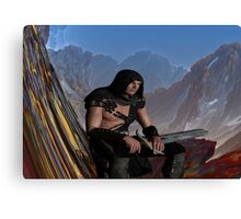 Lost Warrior Canvas Print