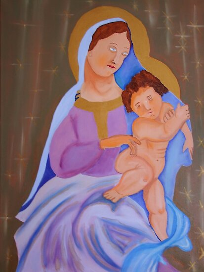 Mary and Son by mikeloughlin