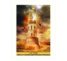 XVI The Tower Art Print