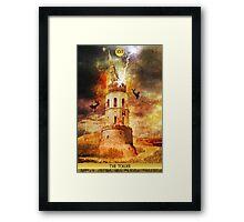 XVI The Tower Framed Print