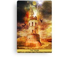 XVI The Tower Canvas Print