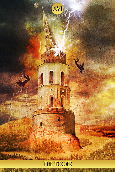 XVI The Tower by Ross Robinson