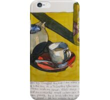 tea and sunshine on oxford street iPhone Case/Skin