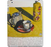 tea and sunshine on oxford street iPad Case/Skin