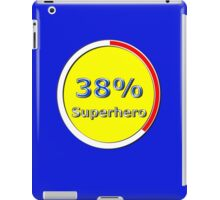 38 Percent Superhero iPad Case/Skin