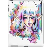 Color in your eyes iPad Case/Skin