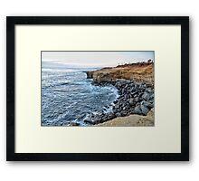 Sunset Cliffs CALIFORNIA Framed Print