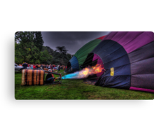 What A Blast ! - Balloonfest 2010, Canberra Australia - The HDR Experience Canvas Print