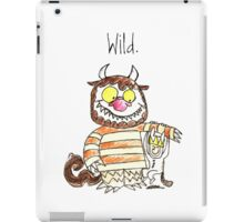 WILD iPad Case/Skin