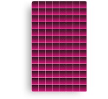 Pink Pattern 37 Canvas Print
