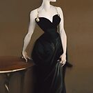 Sargent's Madame X Recreation by downersteve