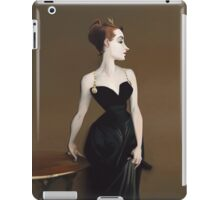 Sargent's Madame X Recreation iPad Case/Skin
