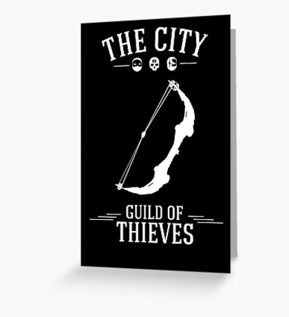Thief - Guild of Thieves Greeting Card